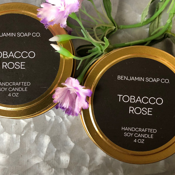 Tobacco Rose 4 oz. Candle