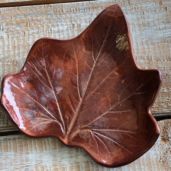 Leaf Spoon Rests