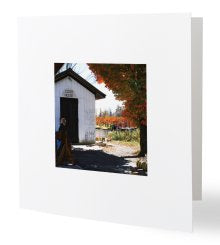 Cider House Greeting Card
