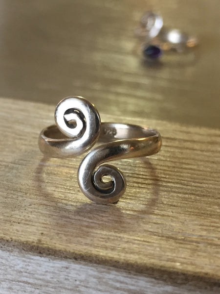 Sterling Silver Pinky or Toe Rings