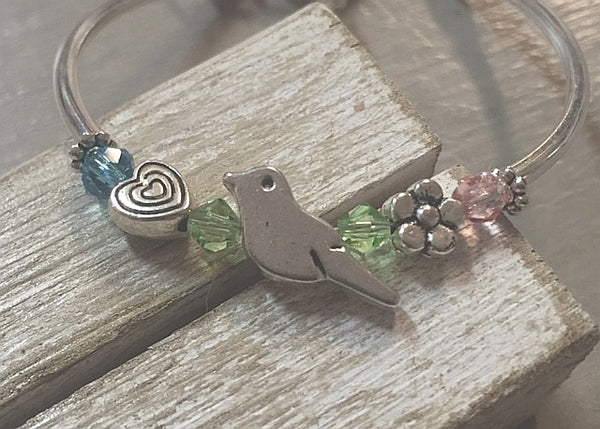 Children's Bird Charm Bracelets
