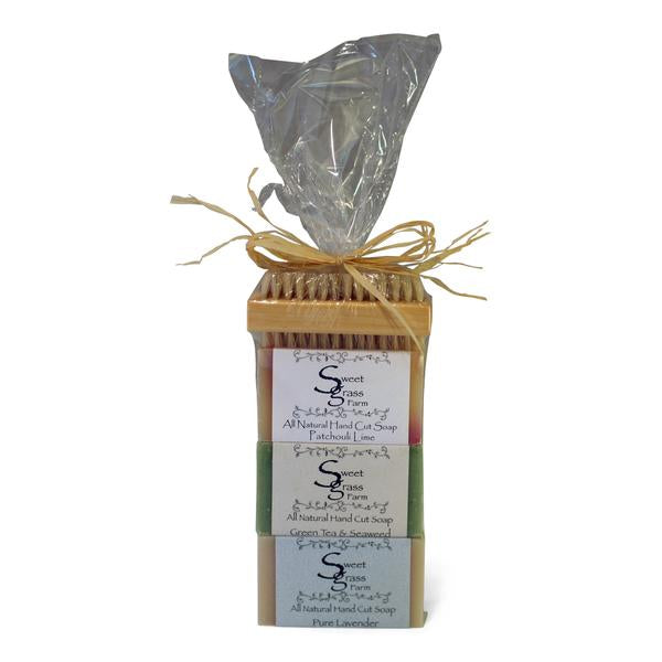Sweet Grass Farm 3 Bar Gift Set