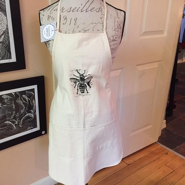 Original Artwork Aprons-Bee