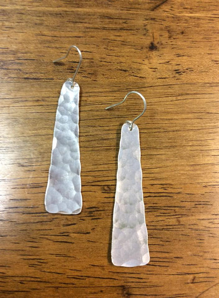 Aluminum Trapezoid Earrings
