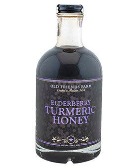 Old Friends Farm Elderberry Turmeric Honey