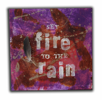 Set Fire to the Rain by Pam Spielberg