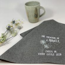 Hemp & Organic Cotton Creation of a Miracle Towel