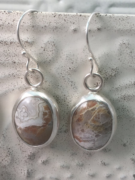 Sterling Silver Lace Agate