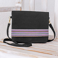 Cotton Sling Handbag