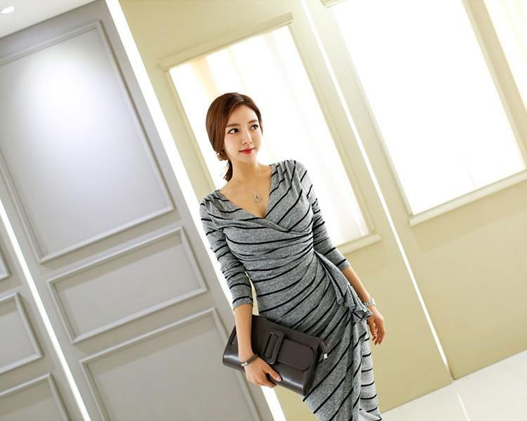Coel Stripes Dress - One Chic Store