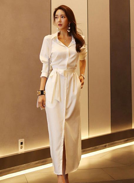 Norene White Dress - One Chic Store