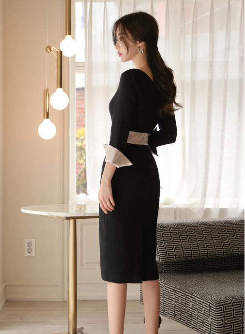Noread Work Dress - One Chic Store