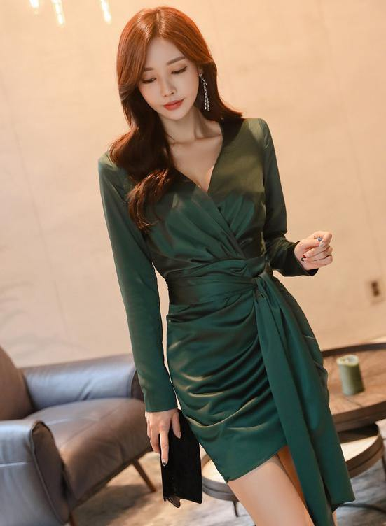 Clift Green Dress - One Chic Store