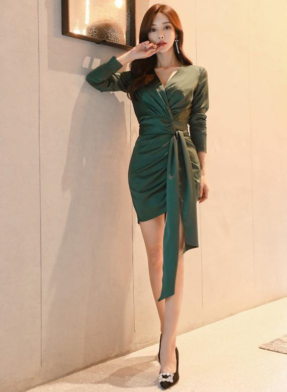 Clift Green Dress