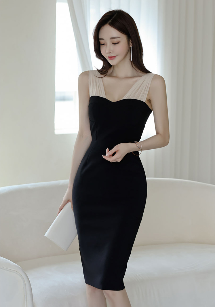 Neverta Black Dress - One Chic Store