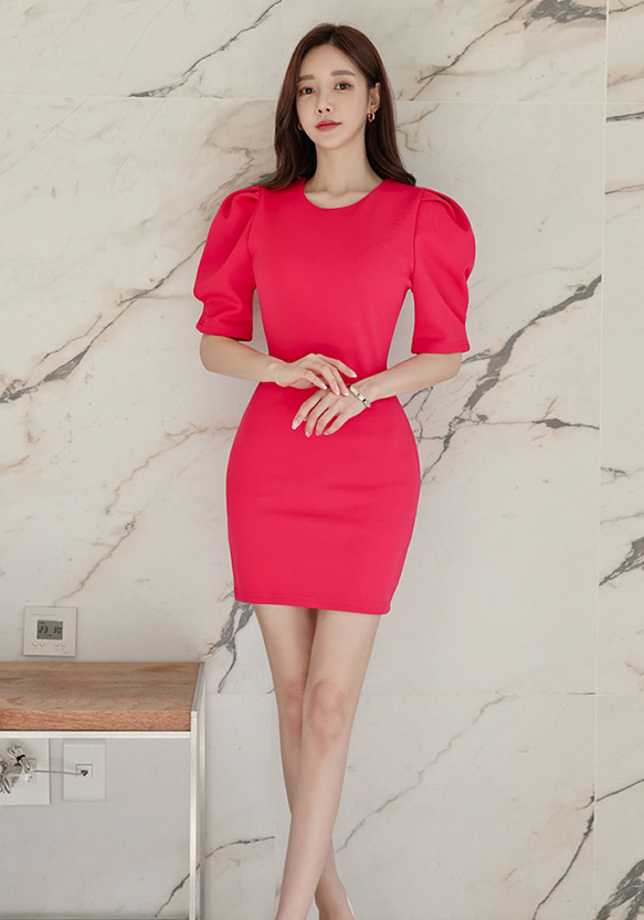 Molly Sleeved Dress - One Chic Store