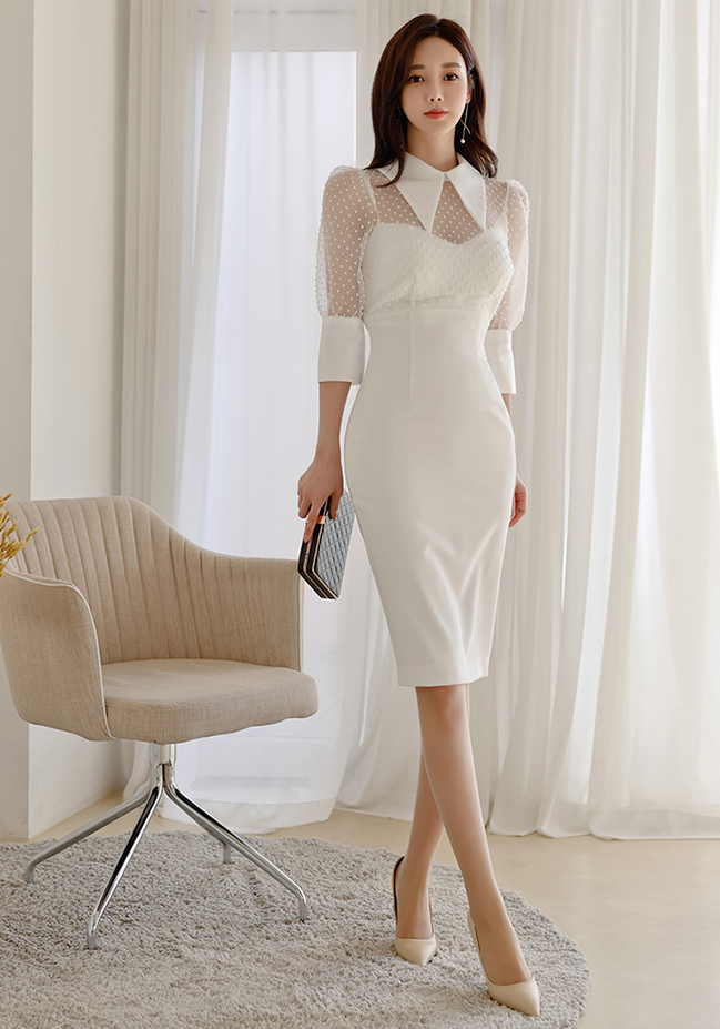 Naralle White Dress - One Chic Store