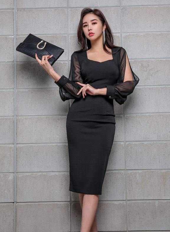 Cealia Black Dress