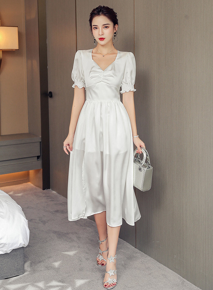 Verinda White Dress