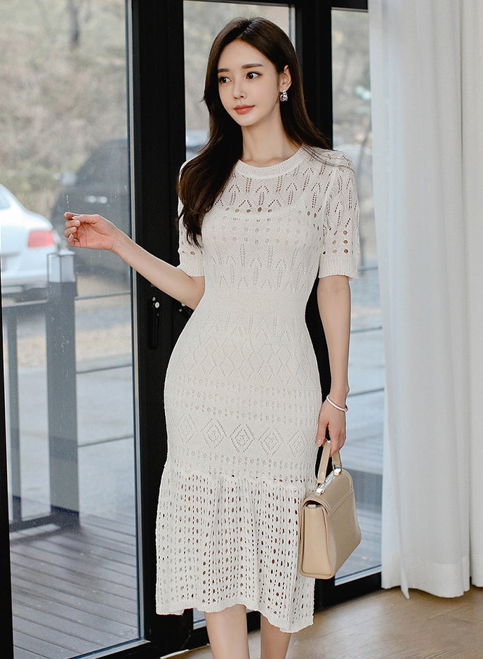 Wallice White Dress