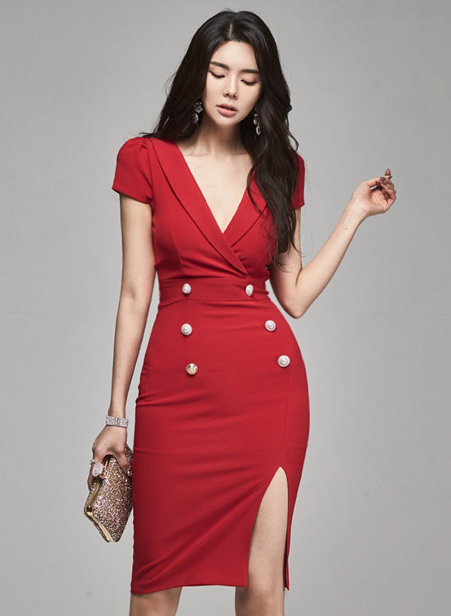 Morieda Sleeved Dress