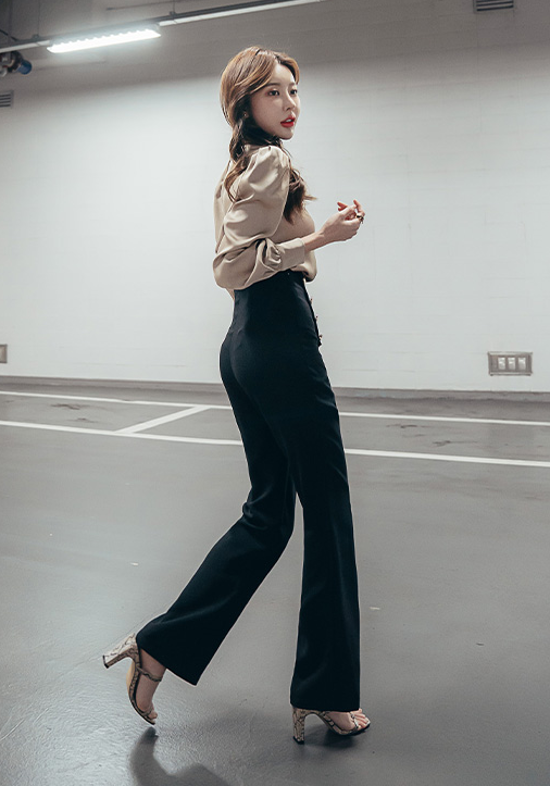 Ariella Black Pants - One Chic Store
