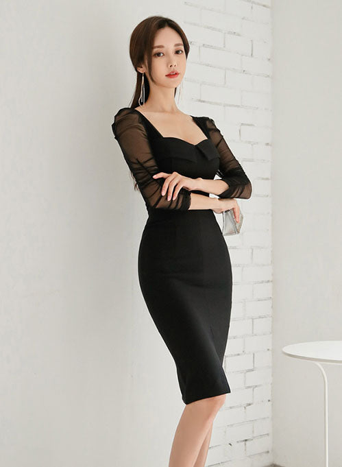 Kerine Sleeved Dress