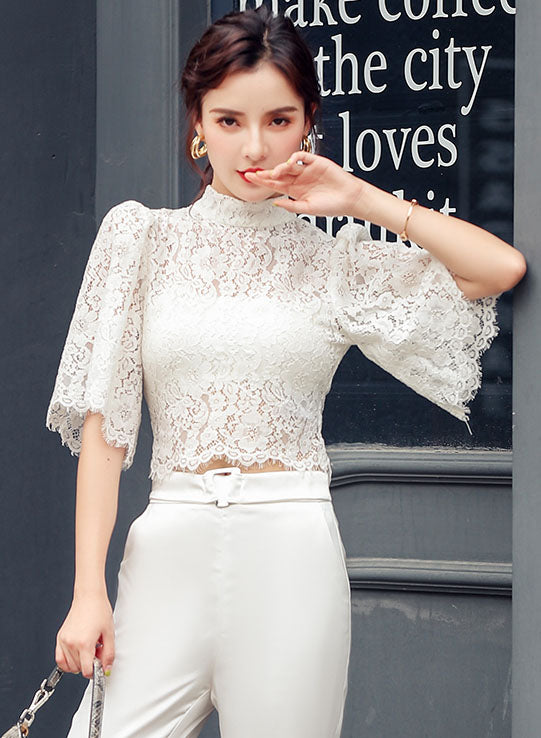 Eleria Lace Top