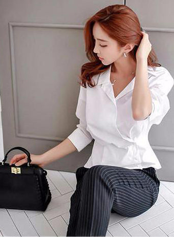 Terine Work Shirt - One Chic Store