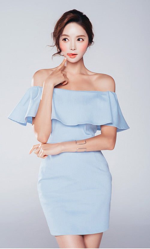 Mikala Off Shoulder Dress - One Chic Store
