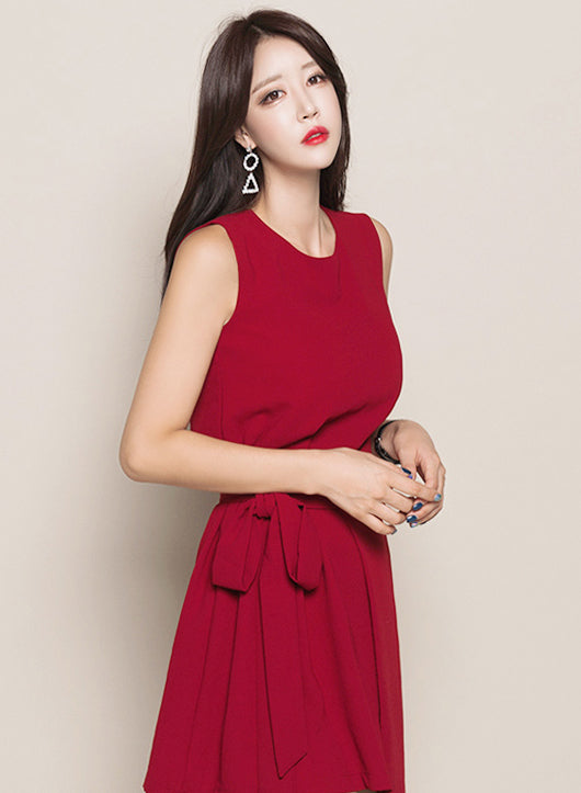Feren Red Dress - One Chic Store