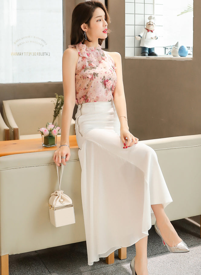 Natalia White Skirt - One Chic Store