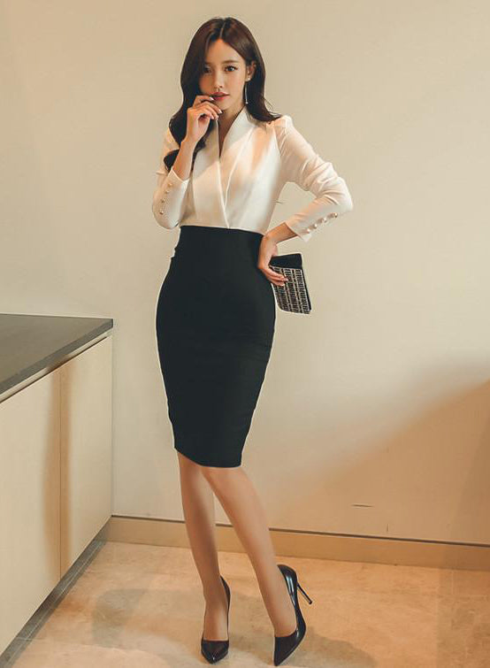 Marinda Work Dress - One Chic Store