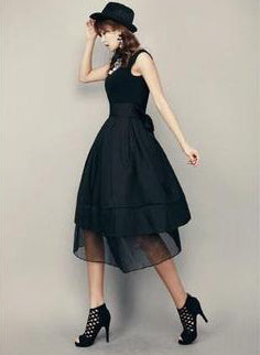 Theresa Black Dress - One Chic Store