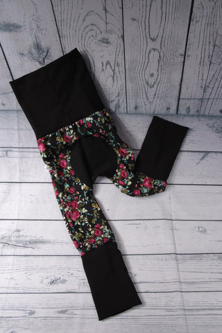 Charlee Pants - Black Floral