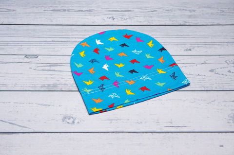 Beanie - Blue Birds Child-Adult