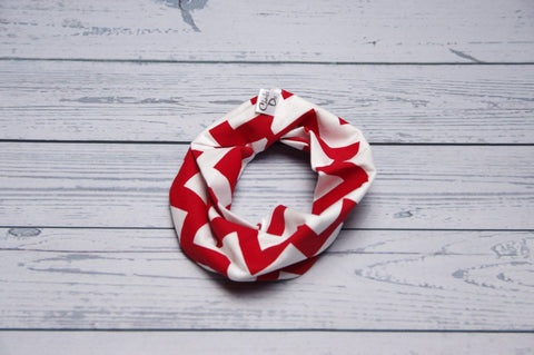 Drool Cowls - Red Chevron