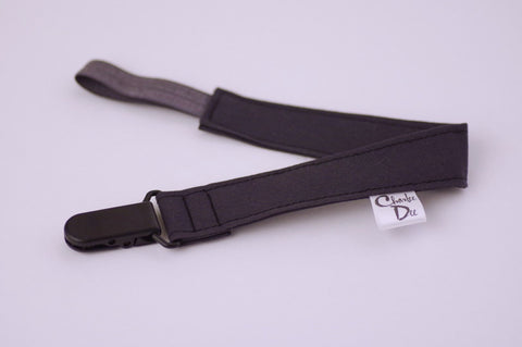 Soother Strap - Charcoal