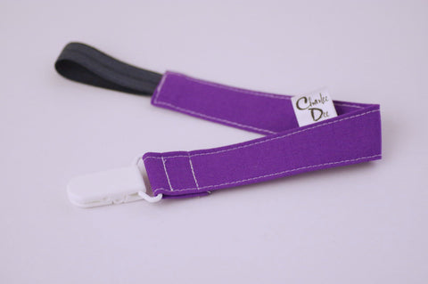 Soother Strap - Purple