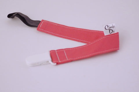 Soother Strap - Bubblegum Pink