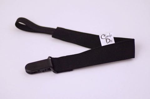 Soother Strap - Black