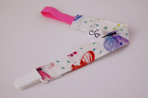 Soother Strap - Butterfly