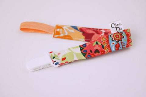 Soother Strap - Colorful Floral