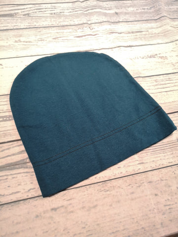 Beanie - Teal child-Adult