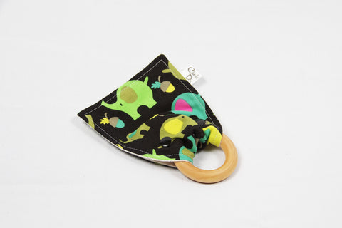 Organic Teether - Elephants