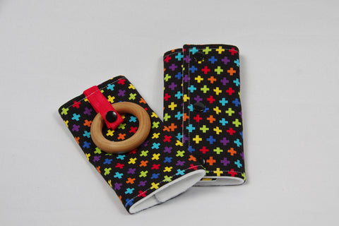 Carrier Strap Cover - Multicolored +