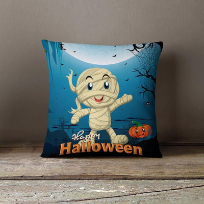 Happy Halloween Throw Pillow-W.FRANCIS
