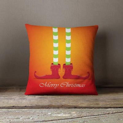 Christmas Elf Throw Pillow-W.FRANCIS