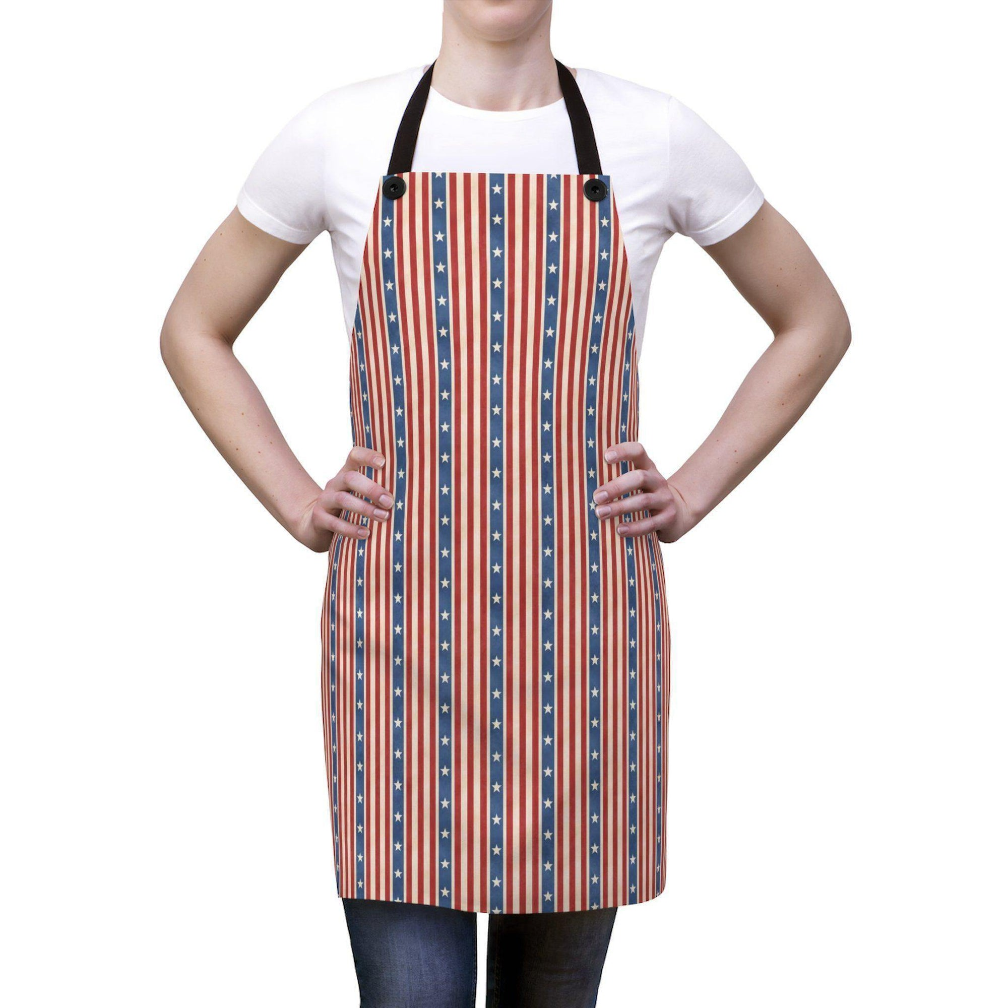 4th of July Apron-W.FRANCIS