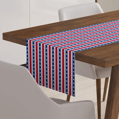 4th of July Table Runner-W.FRANCIS